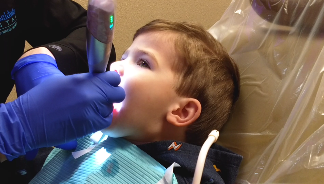 This Child was Ready for a Perfect Dental Visit!